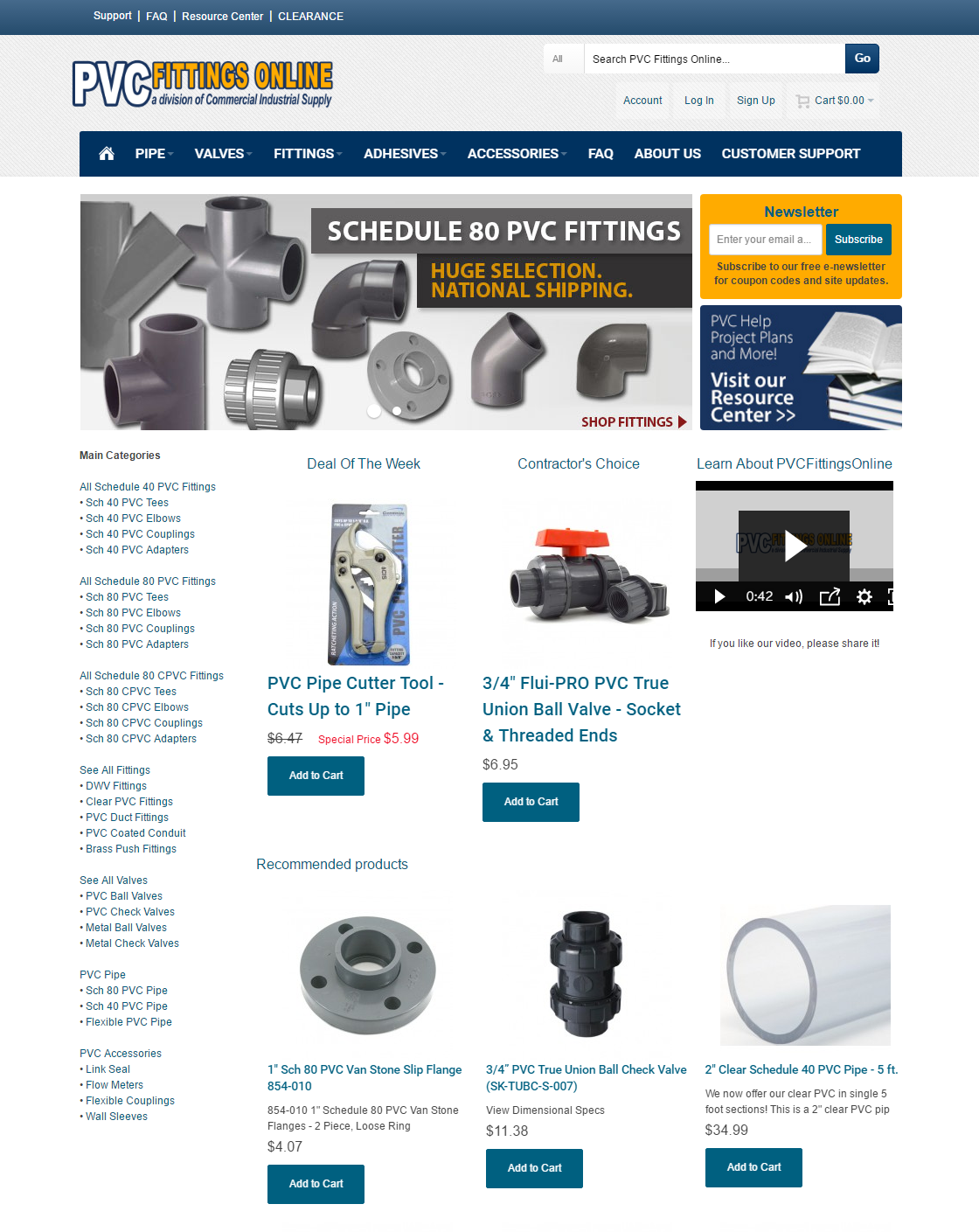 Commercial Industrial Supply | Commerce Hero