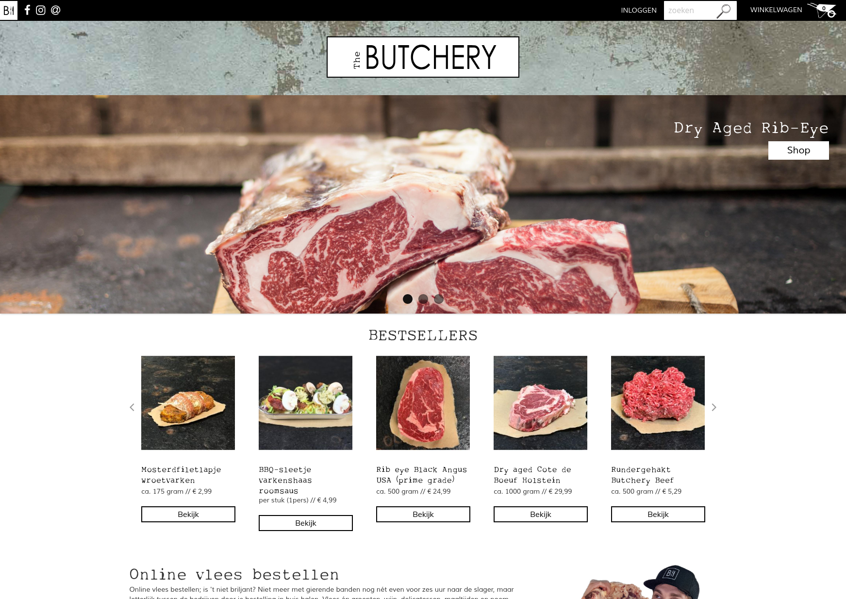 Butchery Is The Online Presence Of A Dutch Butcher Thats Aiming To Grow Quickly And End Up Being Largest Butchers In Country